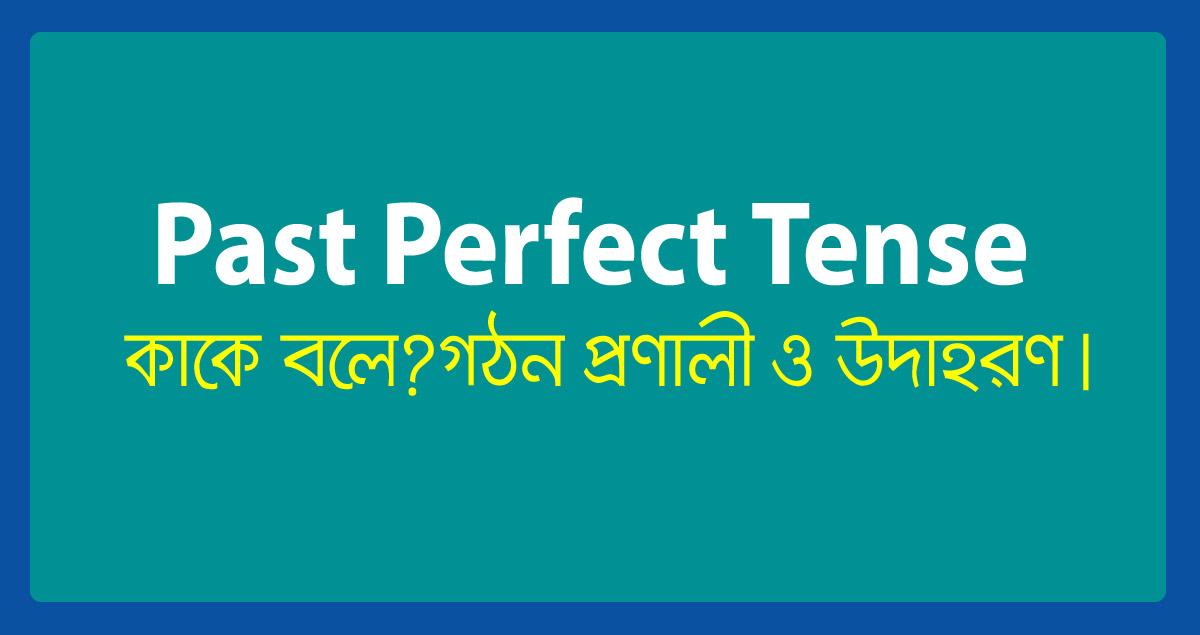 past-perfect-tense